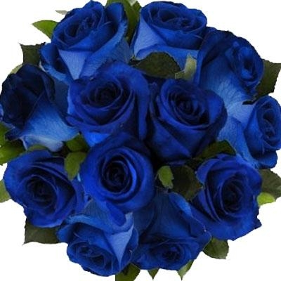 blue roses bouquet flowers delivery 4 u southall middlesex