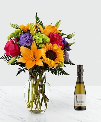 Florist Choice With Prosecco