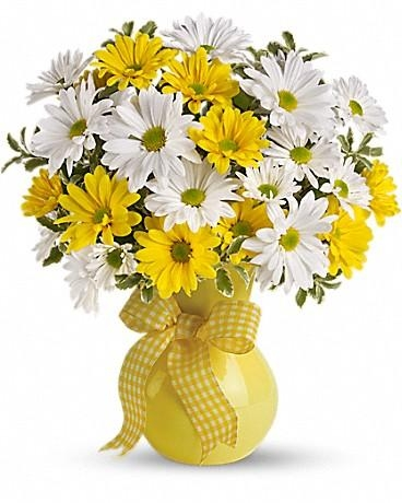Yellow White Daisy Bouquet Flowers Delivery 4 U Southall