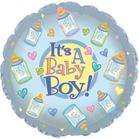 9 inch baby boy balloon