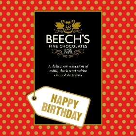 Happy Birthday Gift Message Assorted Chocolates