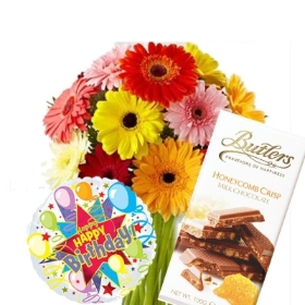 Birthday  Hamper (Gerbera)