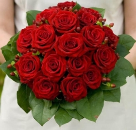 Dozen Long Stem Naomi Red Roses