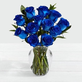 Blue Roses Bouquet