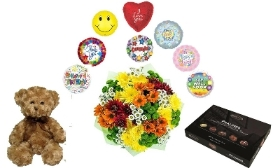 All Occasion hamper (Mix Chrysanths)