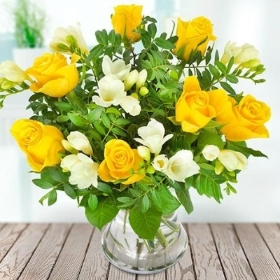 Simply Yellow Bouquet