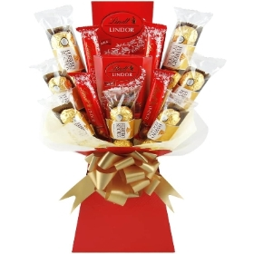 Ferrero & Lindt Luxury Chocolate Bouquet