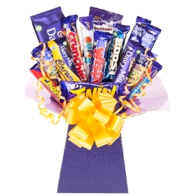 Chocolate Bouquet Made With Cadbury
