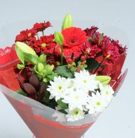 Luxurious Red Bouquet
